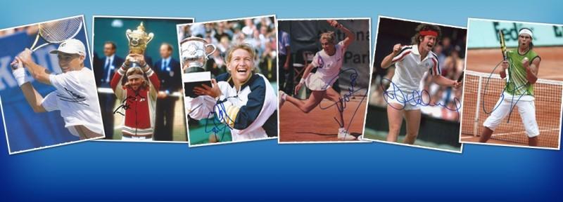 Tennis Autograph - Tennisman Autographed Photos