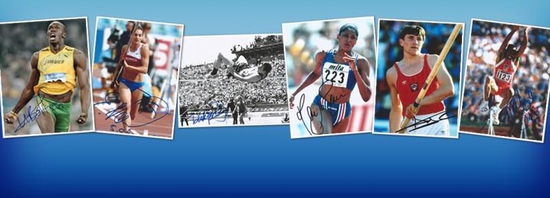 Autographes d'Athlètes - Autographe Athlétisme
