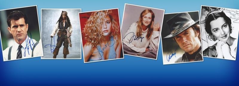 Movie Autograph - TV Show Autograph